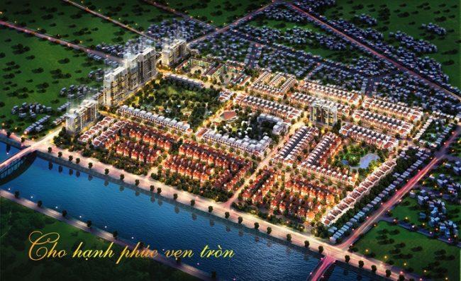 Phối cảnh đêm Khu đô thì mới VCN Phước Hải